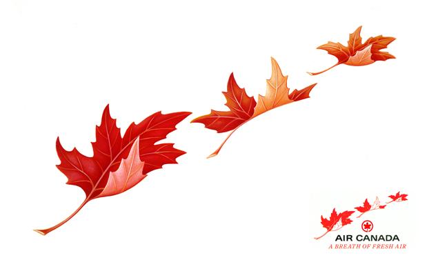 Air Canada Logo Ad