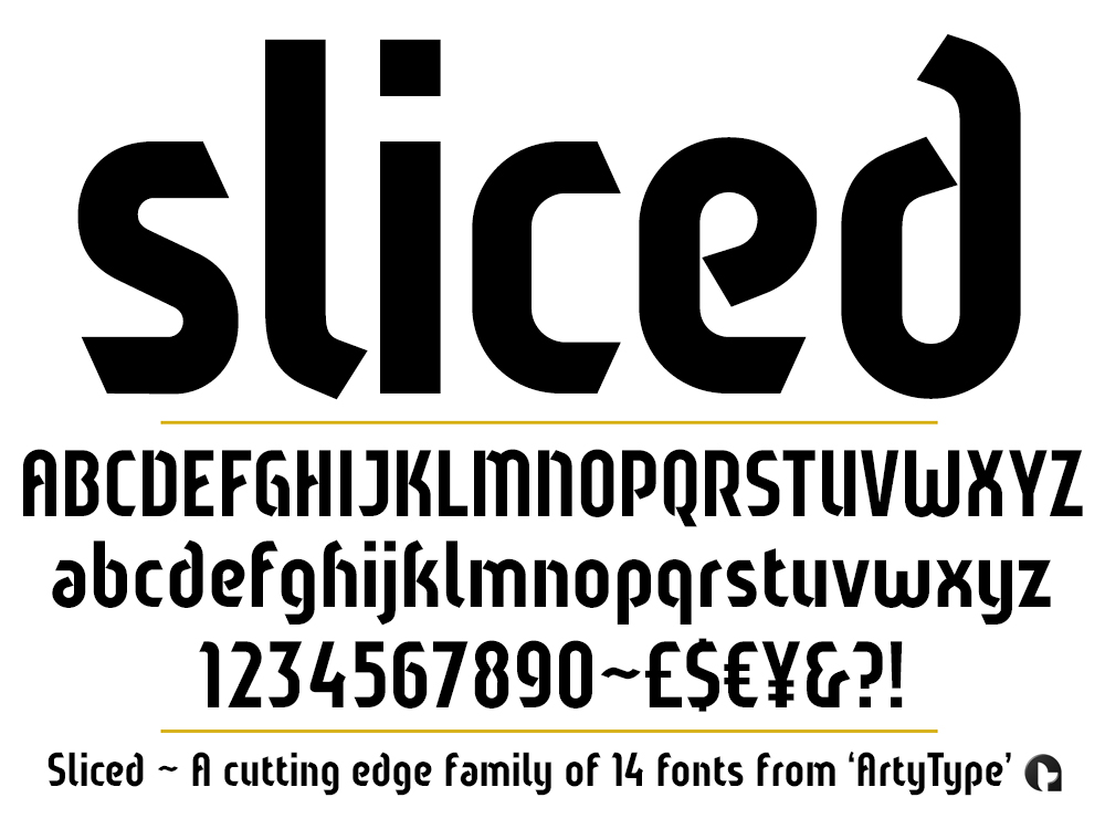 Sliced set