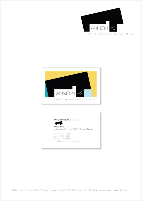 Annetin As B+W Letterhead