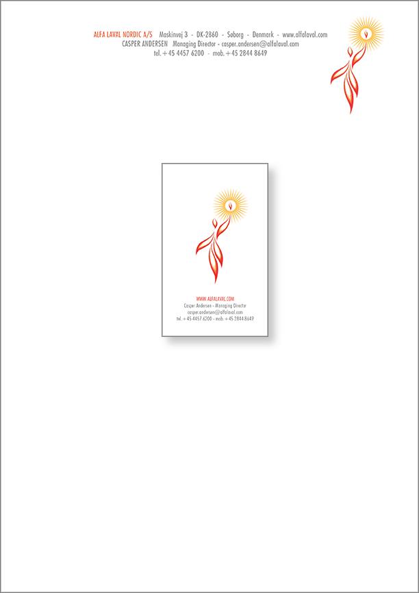 Casper Andersen Letterhead & Card