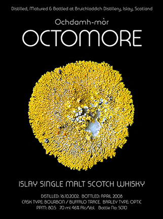 Octomore Label 4