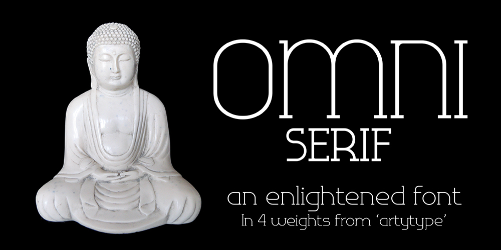 Omni Enlightened font Banner
