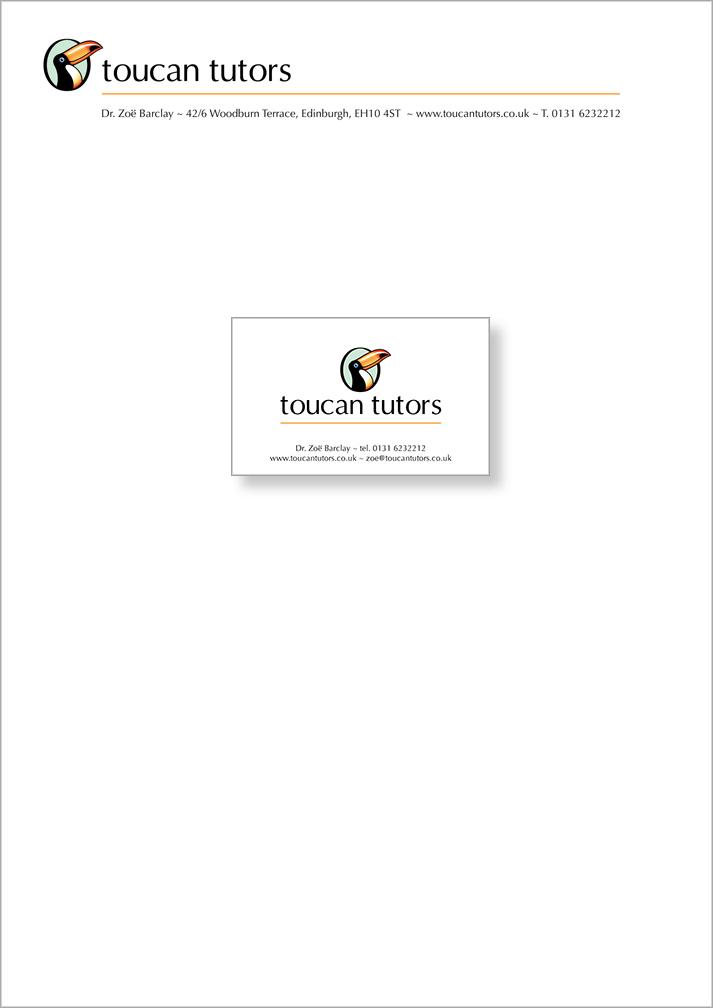 Toucan Letterhead & Card
