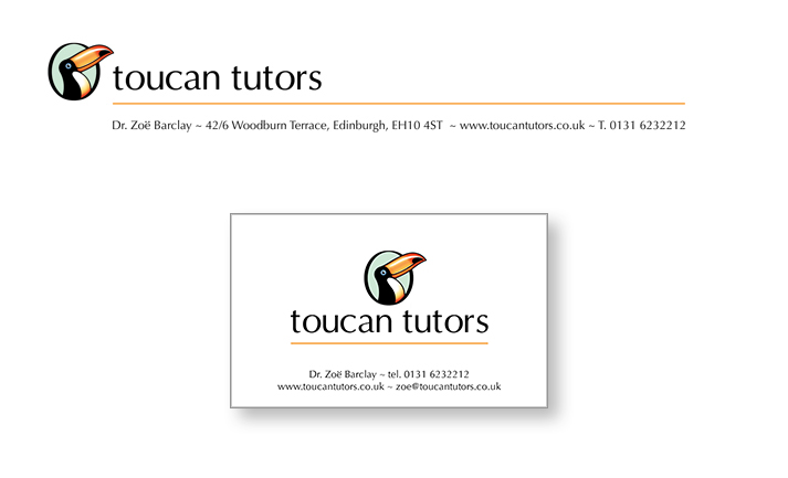 Toucan Letterhead