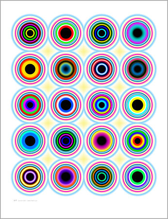 Concentric Glow