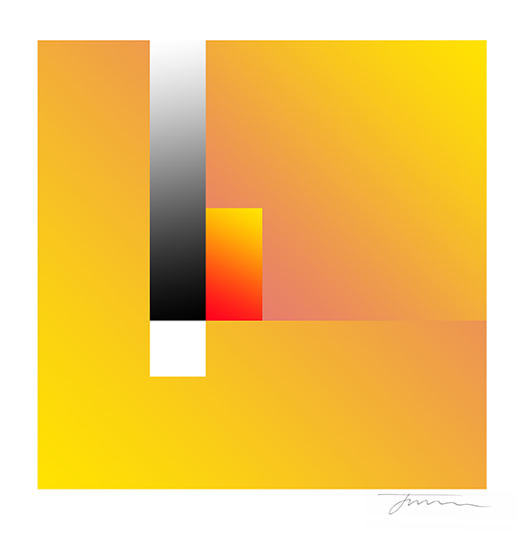 Yellow Tonal Cubic Form