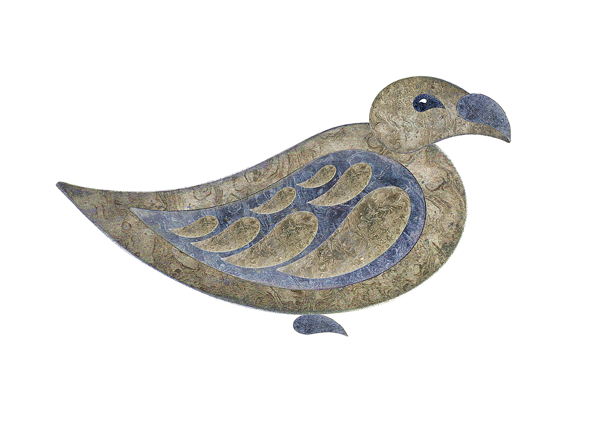 Paisley pigeon 1a