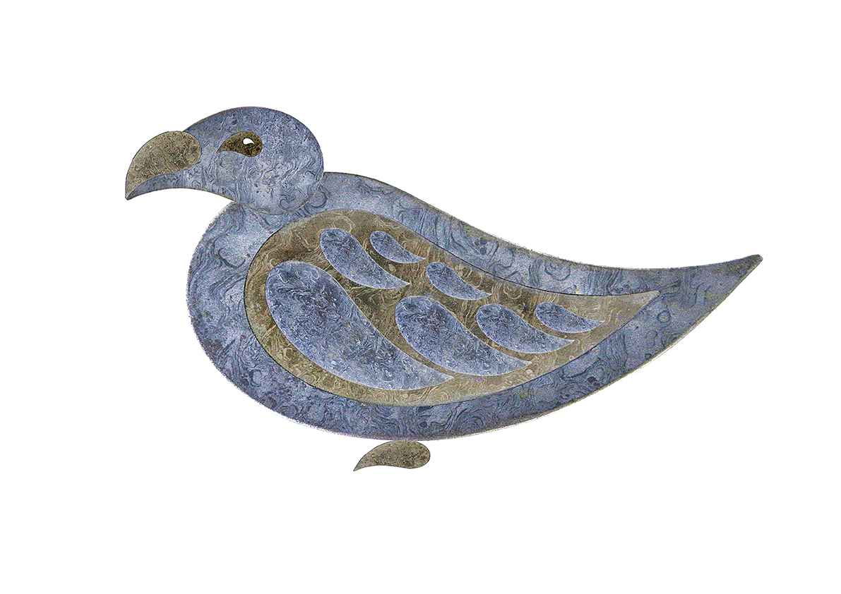 Paisley pigeon 2a